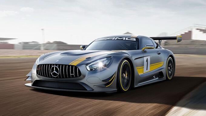 Entwicklung Mercedes AMG GT3