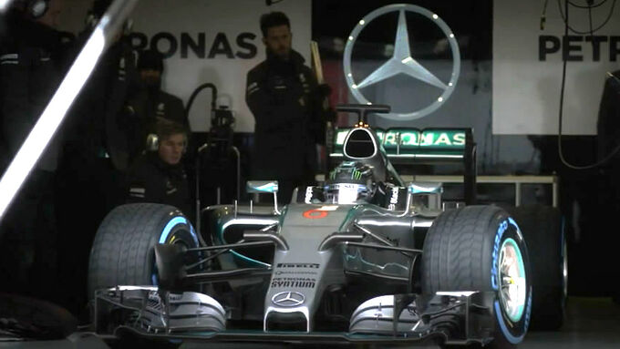 Mercedes AMG W06
