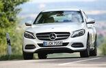 Mercedes C 220 Bluetec, Frontansicht