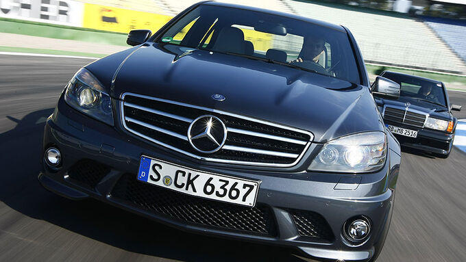 Mercedes C 63 AMG Front