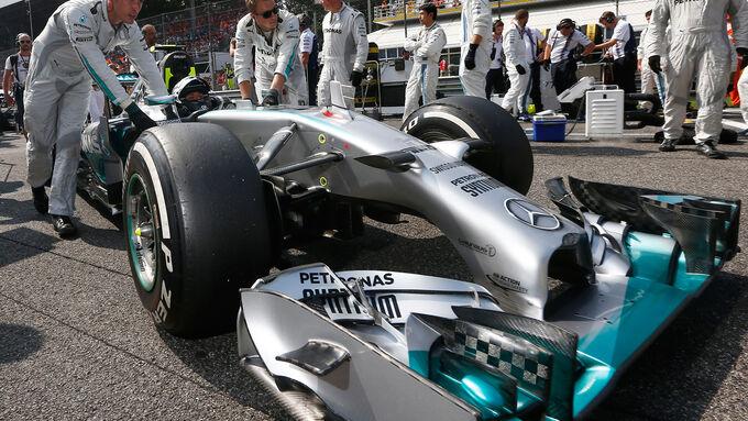 Vorteil für Mercedes und Ferrari