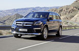 Mercedes GL 2012, Front