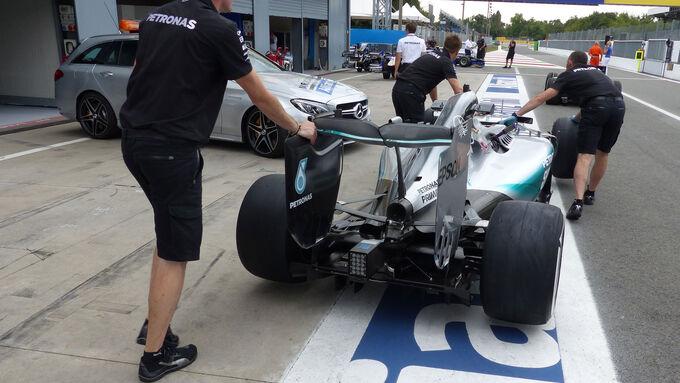 Mercedes nimmt 7 Token