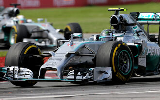 Mercedes - GP Kanada 2014