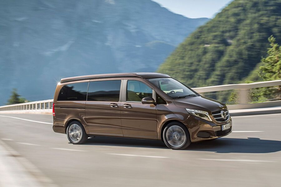 Mercedes Marco Polo Test Sitting New V Class Based Camper