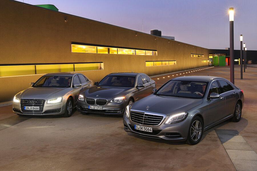 BMW e38 или audi a8