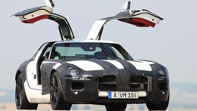 mercedes sls amg fl gelt rer mit 571 ps auto motor und sport. Black Bedroom Furniture Sets. Home Design Ideas
