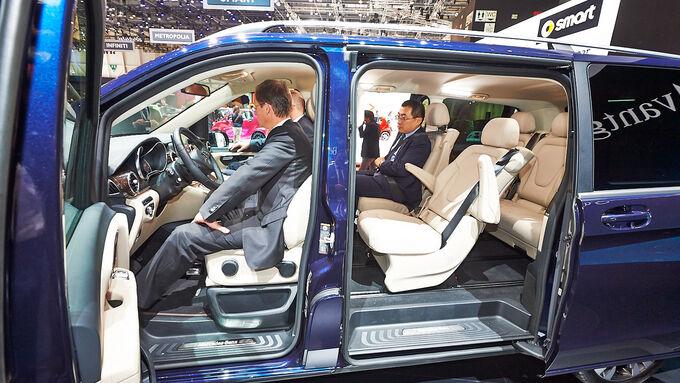 mercedes v klasse auf dem genfer autosalon 2014 das ist der viano nachfolger auto motor und sport. Black Bedroom Furniture Sets. Home Design Ideas