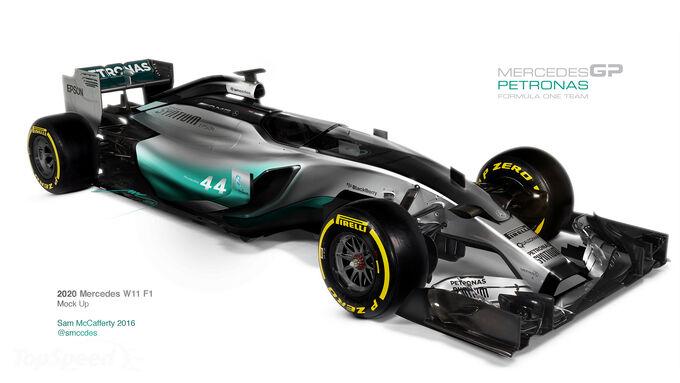 Mercedes W11 Concept für 2020