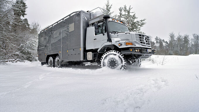 Mercedes Zetros mobile home