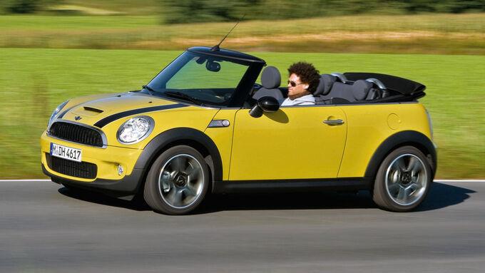 Mini Cabrio, Seitenansicht