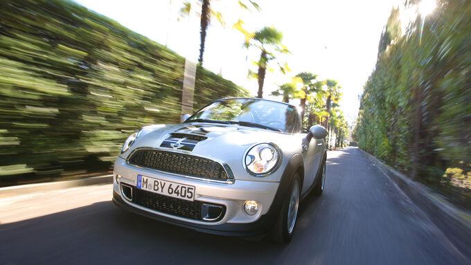 Mini Roadster Cooper S, Front