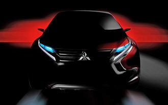Mitsubishi Compact SUV Concept Genf 2015