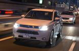 Mitsubishi Outlander PHEV, Frontansicht, Scheinwerfer