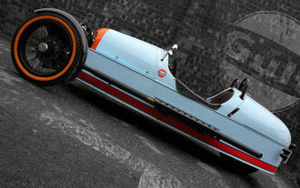 Morgan Threewheeler Gulf Edition