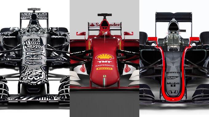 F1-Nasen werden kürzer