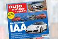 Neues auto motor und sport, Heft 19, Vorschau, Preview, IAA 2015