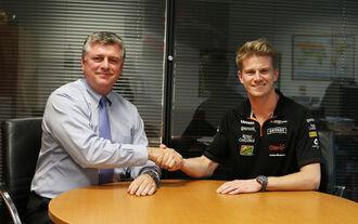 Force India bestätigt Nico Hülkenberg