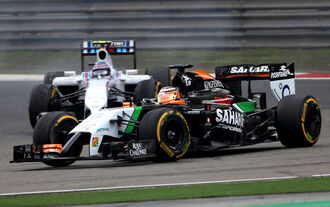 Nico Hülkenberg - GP China 2014