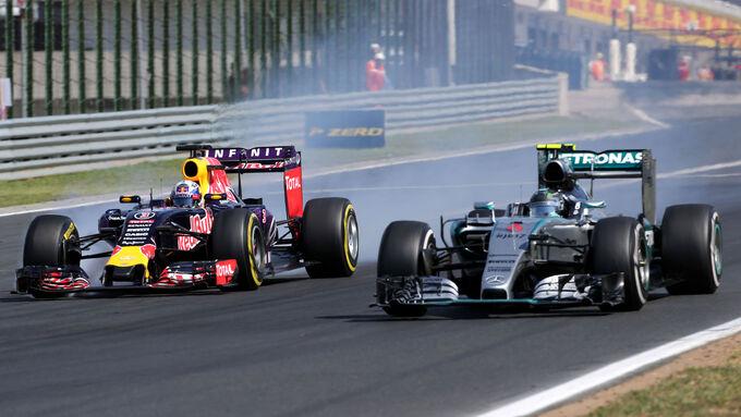 Rennanalyse GP Ungarn 2015