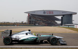 Nico Rosberg - Mercedes - GP China 2013