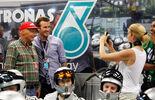 Niki Lauda  David Beckham - GP Singapur