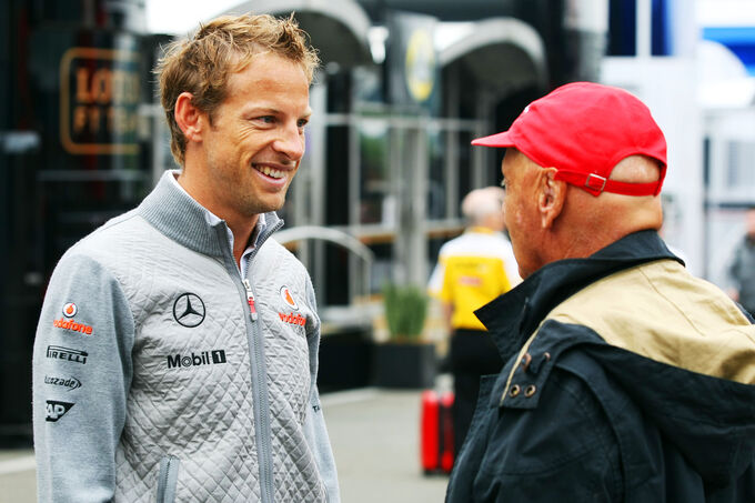 Niki-Lauda-Jenson-Button-Formel-1-GP-Bel