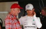 Niki Lauda Nico Rosberg - F1 - 2015