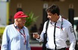 Niki Lauda Toto Wolff - Formel 1 - GP Abu Dhabi - 27. November 2015