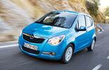 Opel Agila blau