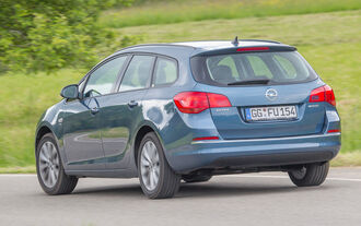 Opel Astra Sports Tourer 1.4 Turbo, Heckansicht