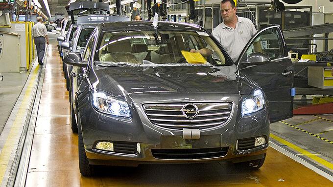 Opel Produktion Insignia Werk R�sselsheim