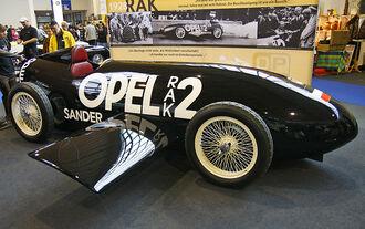 Opel RAK2 auf der Klassikwelt Bodensee