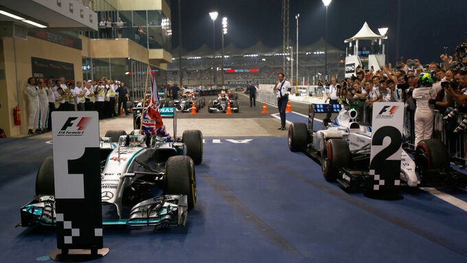 Noten GP Abu Dhabi 2014