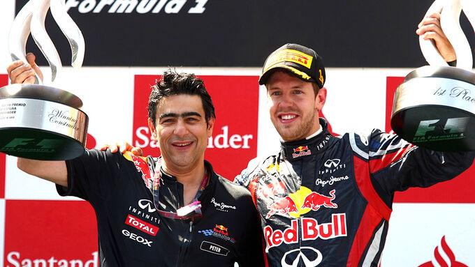 Peter Prodromou  Sebastian Vettel - GP Spanien 2011