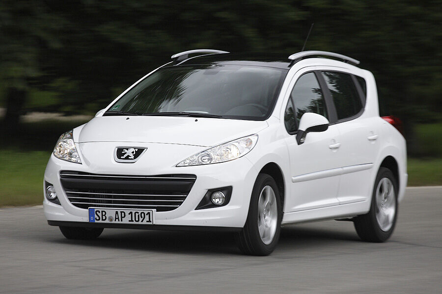 peugeot 207 sw im test diesel kleinwagen mit kombiheck auto motor und sport. Black Bedroom Furniture Sets. Home Design Ideas