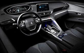 Peugeot 3008 Innenraum leaked