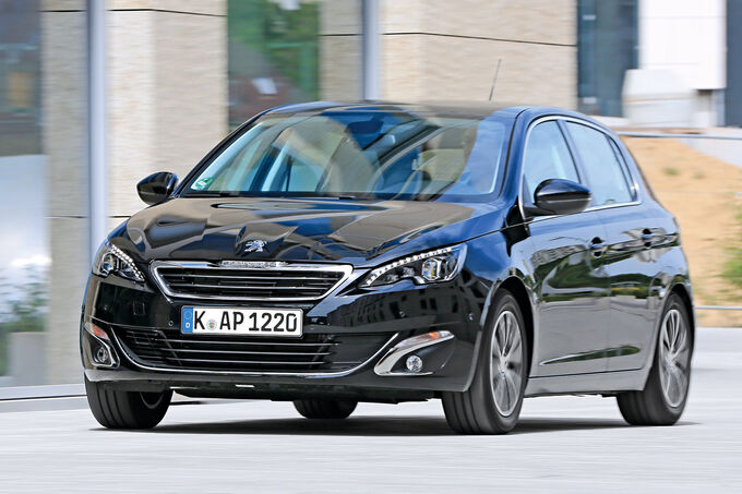 peugeot 308 blue hdi 120 im test l we mit leistungsplus bildergalerie bild 1 auto motor. Black Bedroom Furniture Sets. Home Design Ideas