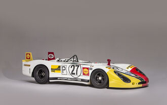 Porsche 908/02 the Flunder - Chassis no. 908.02-05