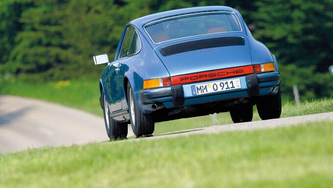 Porsche 911 S, Heck