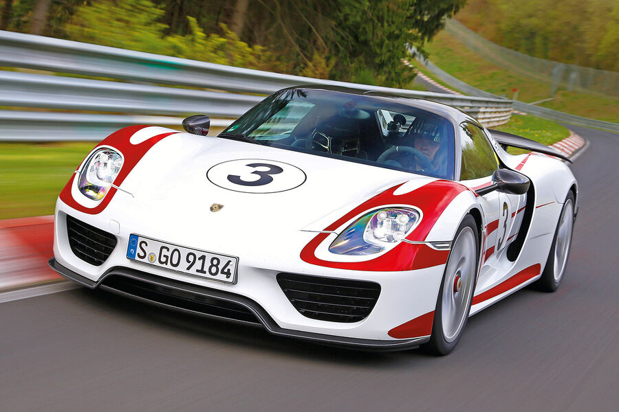 porsche 918 spyder hybridsportwagen im test auto motor und sport. Black Bedroom Furniture Sets. Home Design Ideas