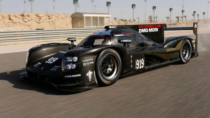 Porsche 919 Hybrid (2015) - LMP1 - Testfahrten - Bahrain - Februar 2015