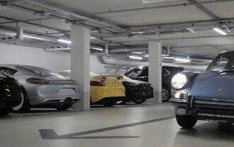 Erlkönig Porsche Cayman GT4