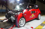 Quadricycles Microcars im EuroNCAP Crashtest