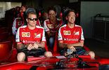 Räikkönen Vettel - GP Abu Dhabi 2015