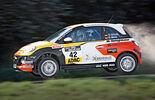 Rallye Cup-Adam, Seitenansicht, Flug