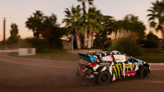 Auftakt Rallye Spanien