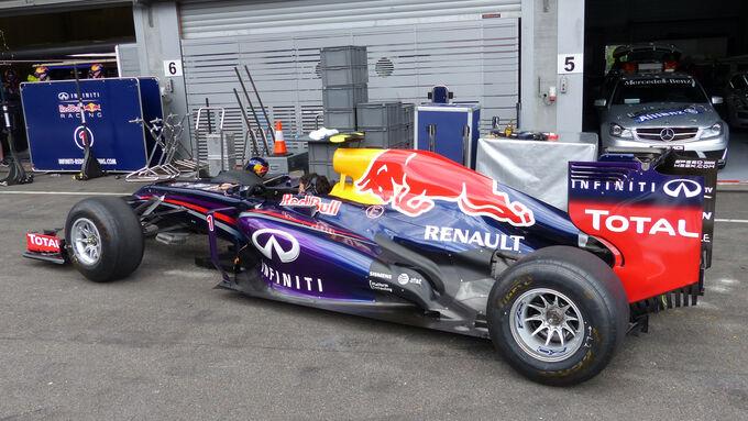 Fotos GP Belgien (Mittwoch)
