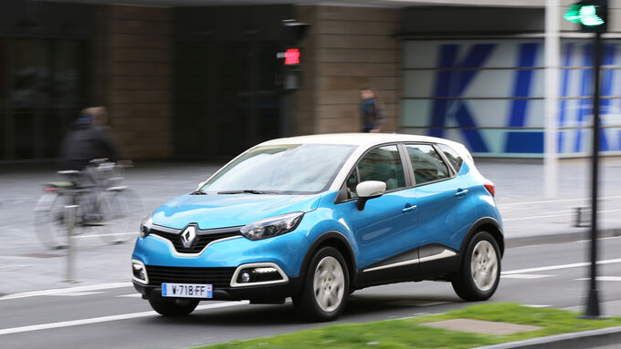 Renault Captur, Seitenansicht