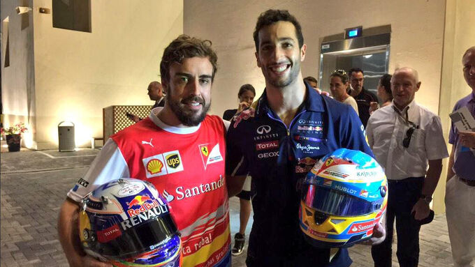 Radio Fahrerlager GP Abu Dhabi
